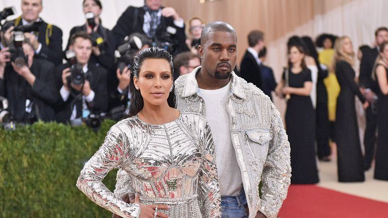 Kanye West married Kim Kardashian in 2014