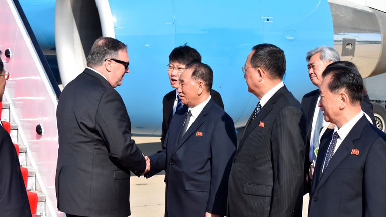 North Korean Official Flying To Nyc In Bid To Save Trump Kim Summit
