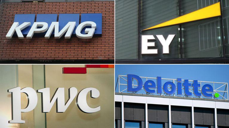KPMG, EY, PWC, Deloitte