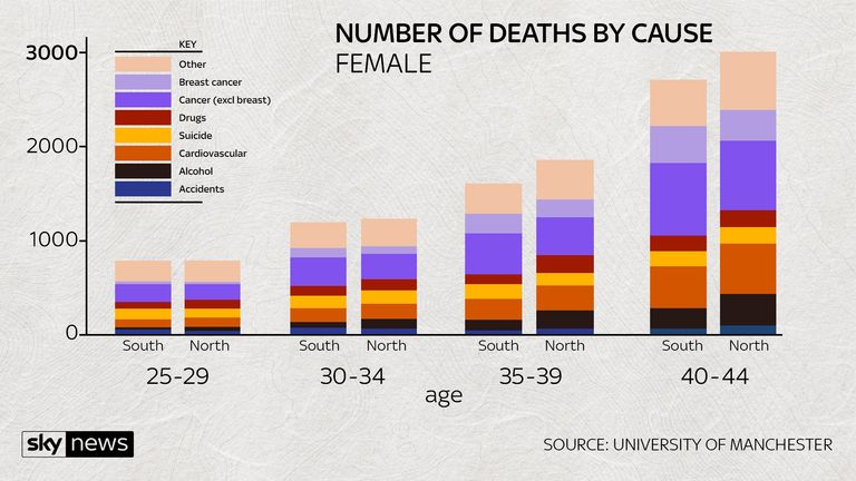NUMBER OF DEATHS BY CAUSE