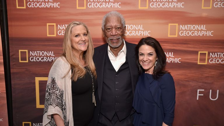 Lori McCreary set up Revelations Entertainment with Morgan Freeman