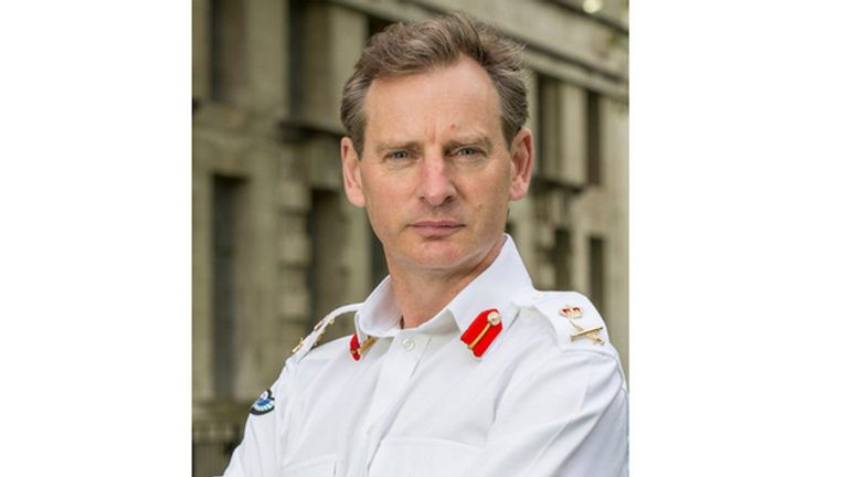 Lieutenant-General Mark Carleton-Smith also served in Afghanistan. Pic: MoD