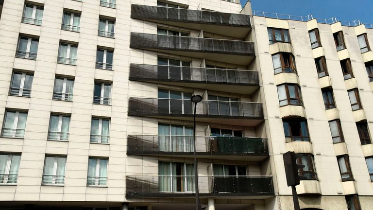 Mamoudou Gassama scaled the Paris apartment block to save the child