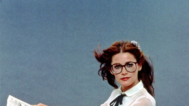 Margot Kidder as Lois Lane in Superman