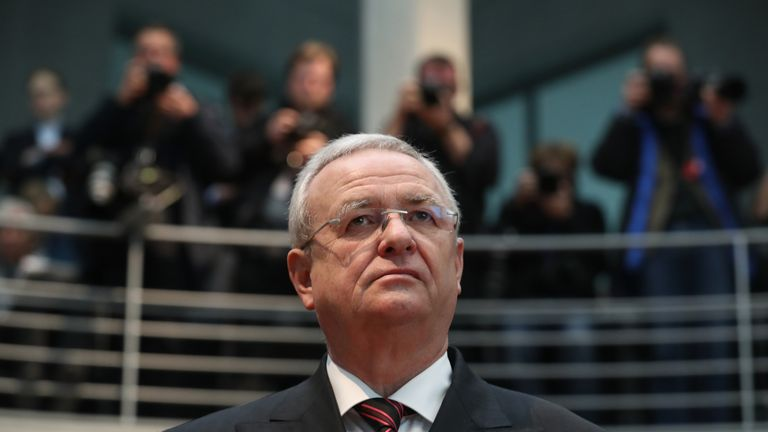 Martin Winterkorn quit as chief executive of the VW group shortly after the diesel emissions scandal came to light