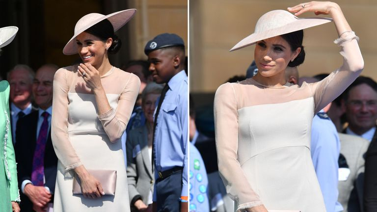Meghan Markle Wears Goat Dress And Brand S Website Crashes Within