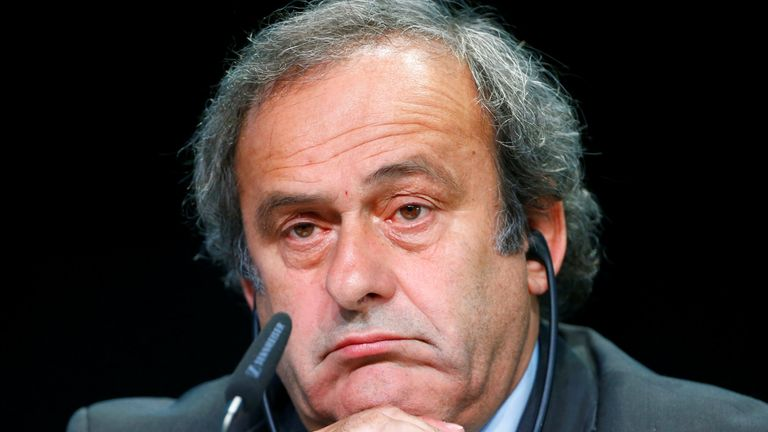 Michel Platini says football is his life