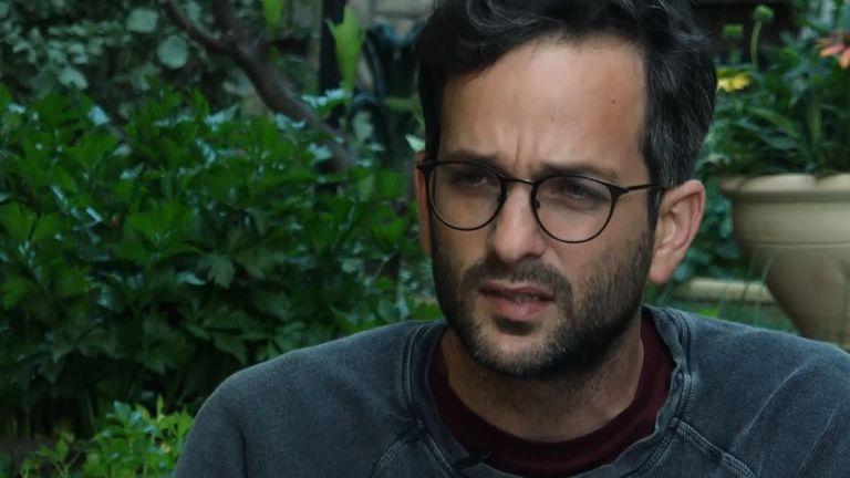 Nadav Weiman, former Israeli sniper