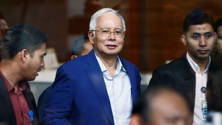 Najib Razak was ousted in May after more than six decades in power