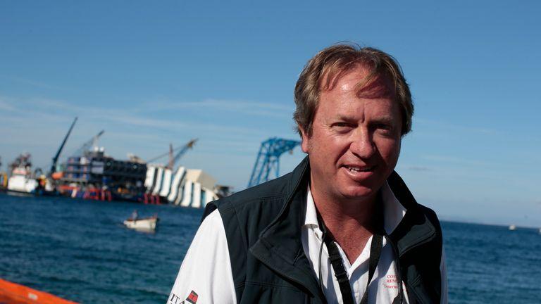 Marine salvage expert Nick Sloane