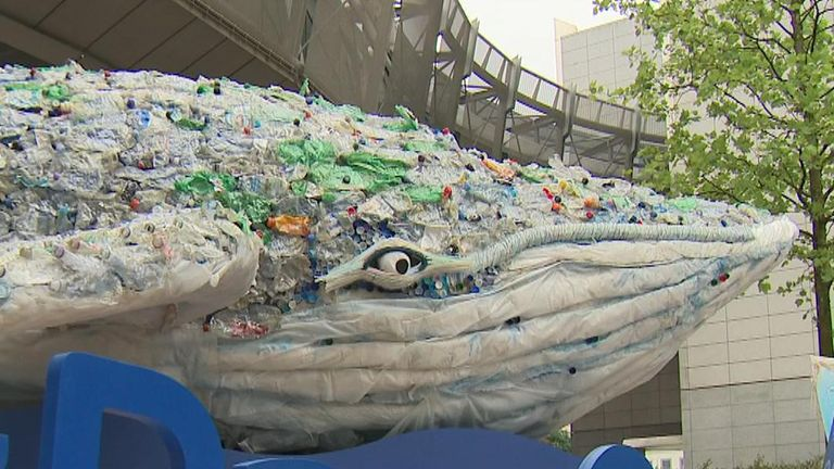 Plastic Whale visits Brussels