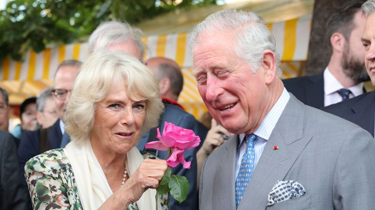 Camilla told reporters she 'can't wait' for the Royal wedding