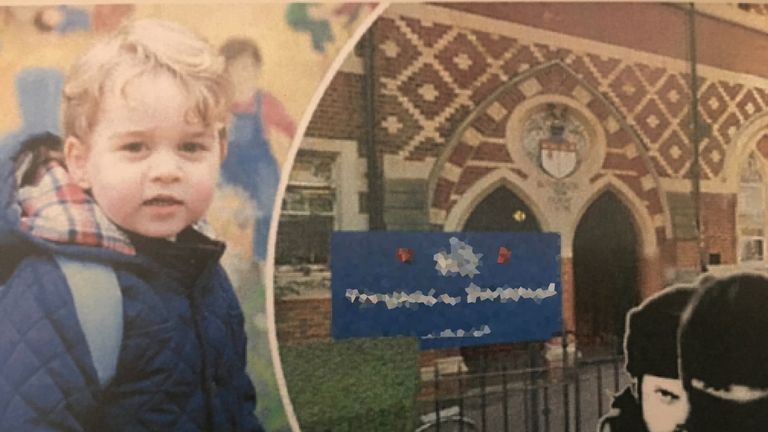 Prince George was targeted in the plot