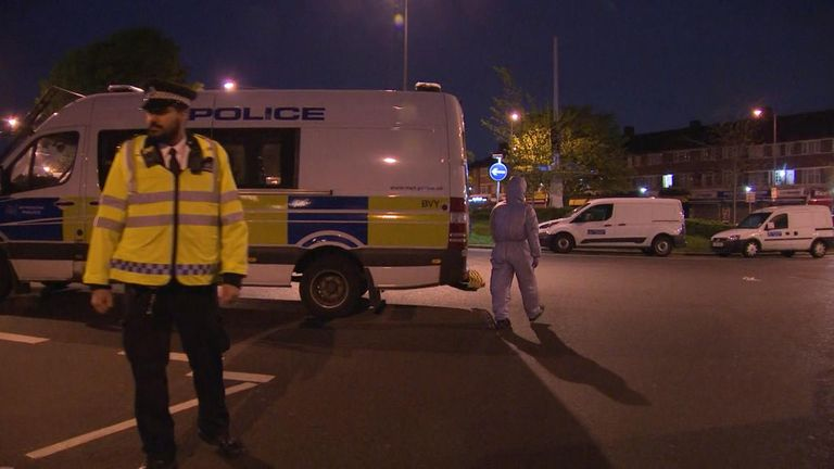 A man in his 20s remains in hospital with a gunshot wound