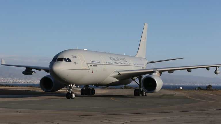 Ministers can use RAF Voyager jets
