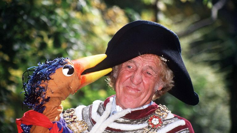 Rod Hull and Emu were popular in the 1970s and 1980s