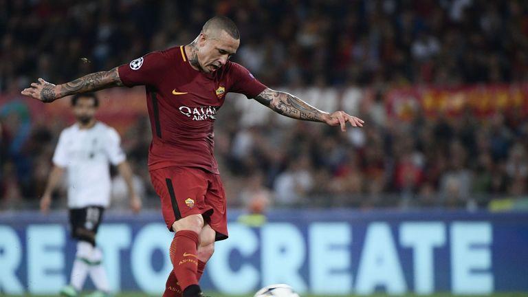 Nainggolan's 25-yard strike wasn't enough to rescue Roma