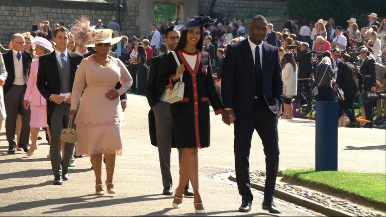 Idris Elba and Oprah Winfrey