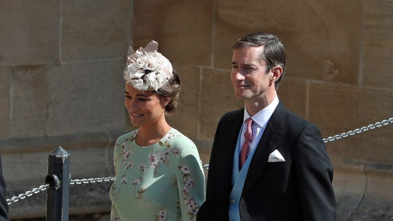 Pippa Middleton and her husband James Matthews