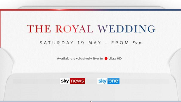 Follow the royal wedding on Sky News
