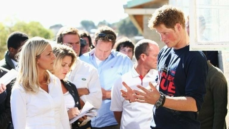 Sarah Hewson spent time with Prince Harry in Lesotho in 2008