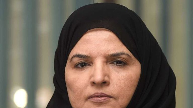 Aziza al-Yousef was also detained. Pic: Private, Amnesty International