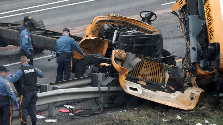 The crash resulted in multiple fatalities
