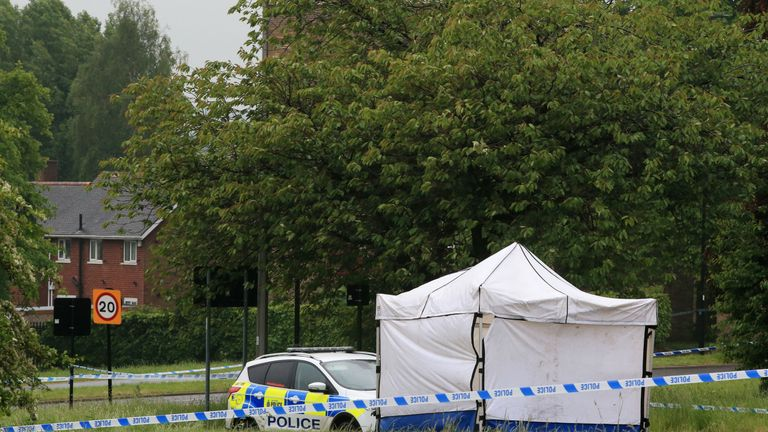 Police first got reports of the stabbing around 7.50pm