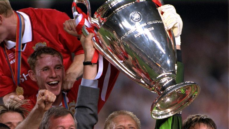 Sir Alex won the treble in 1999 with United