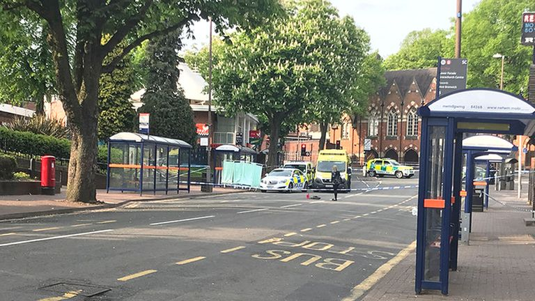 A 16-year-old was found with serious stab wounds in Sutton Coldfield
