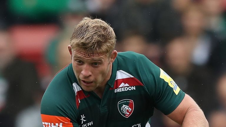 Tom Youngs of Leicester Tigers