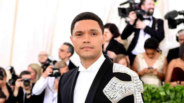 Trevor Noah challenged the notion of a 'black' royal wedding