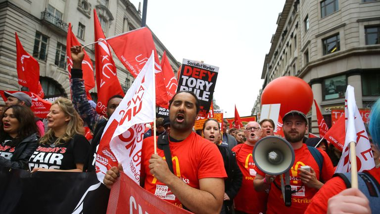 It was the biggest TUC rally in years