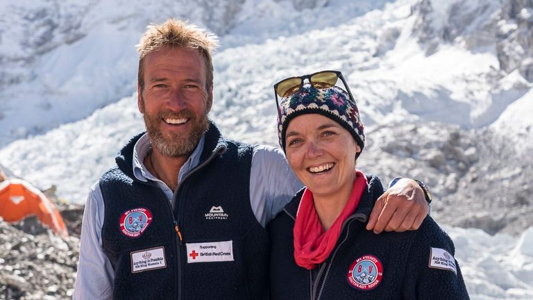 Ben Fogle posted this photo to Twitter, crediting @fisher_creative