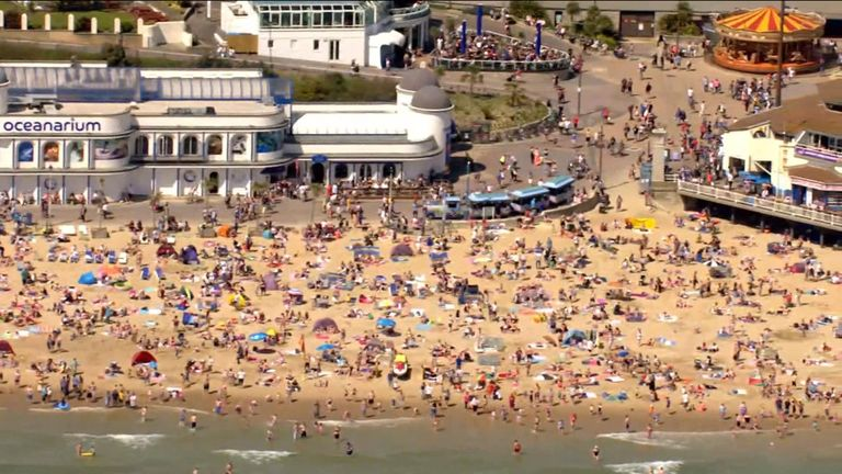 It's the hottest May Day bank holiday on record