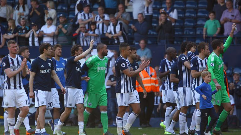 West Brom have been relegated despite beating Tottenham on Saturday