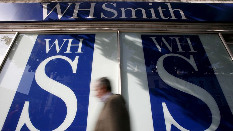 WHSmith shop in London
