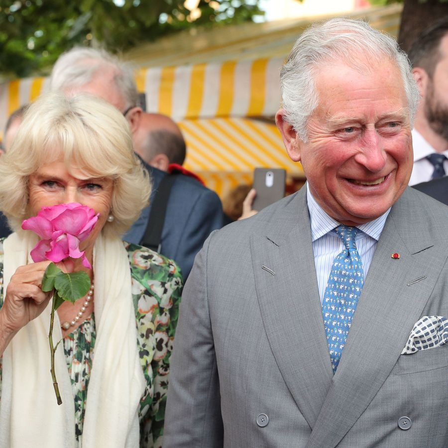 The Duke and Duchess of Cornwall were all smiles as they visited Nice in France