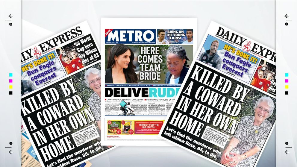 Thursday's papers with Sky News