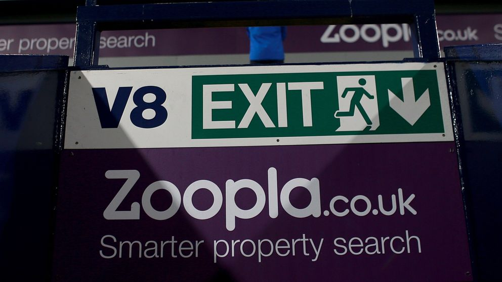 Zoopla branding at The Hawthorns