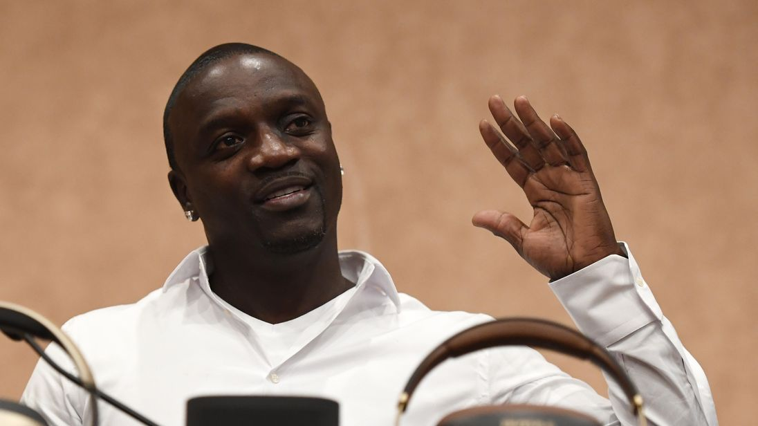 Akon wants to build his own futuristic city