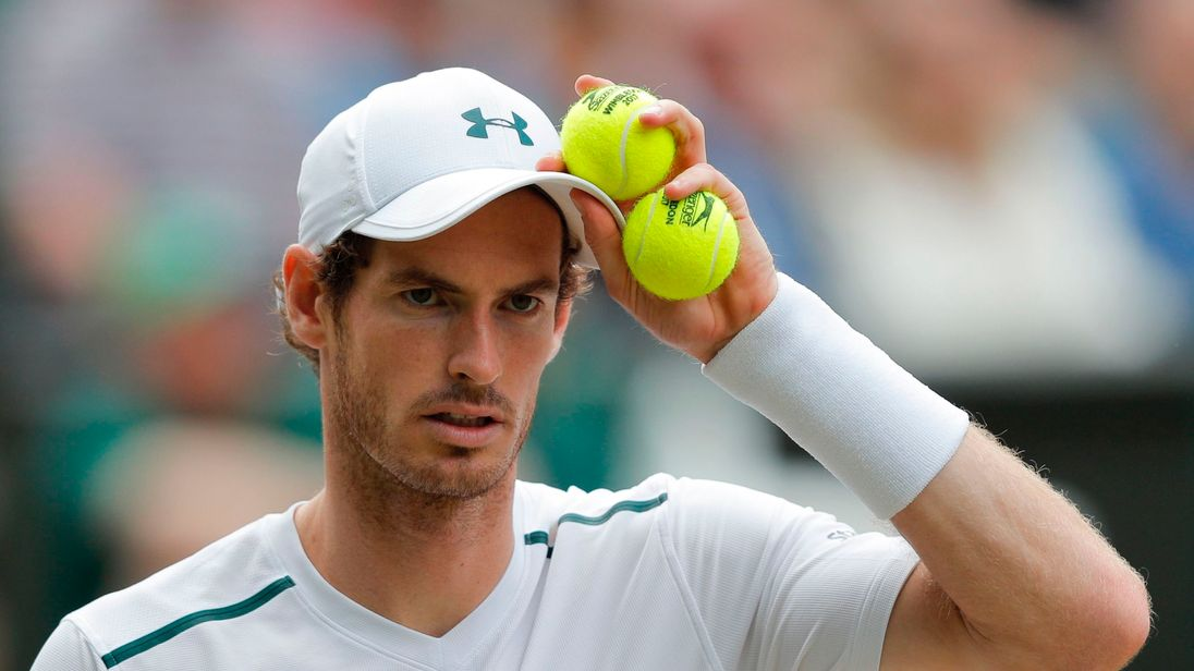 Andy Murray pulls out of Wimbledon warm-up tournament  Murray