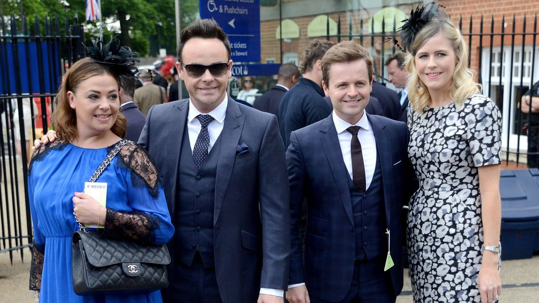 Ant McPartlin and wife granted divorce in 30 seconds