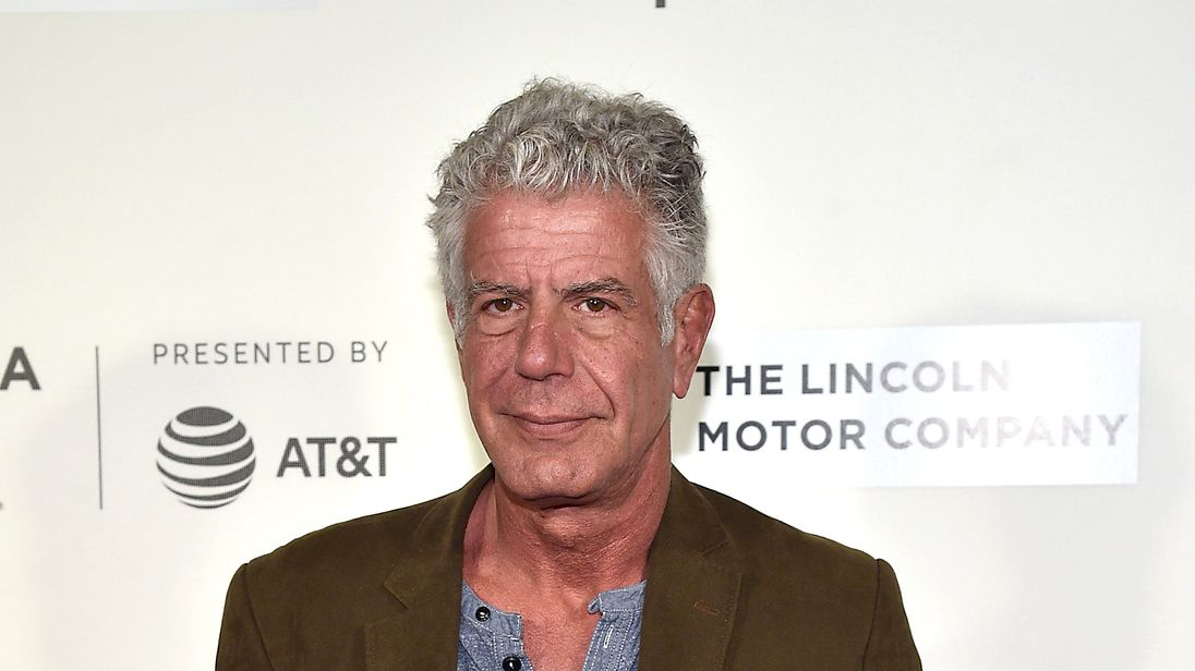 IMG ANTHONY BOURDAIN, Chef, Storyteller and Writer