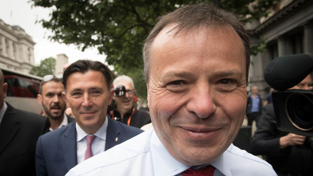 Arron Banks Insists There's