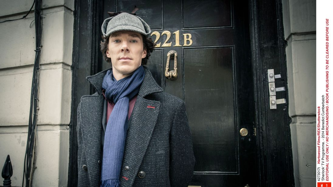 Sherlock star Benedict Cumberbatch 'saves cyclist who was ...