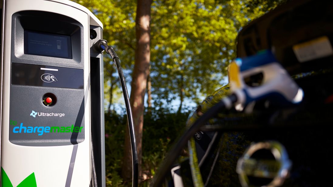 BP says its charging network will allow electric vehicles to secure 100 miles of battery life in 10 minutes. Pic: BP