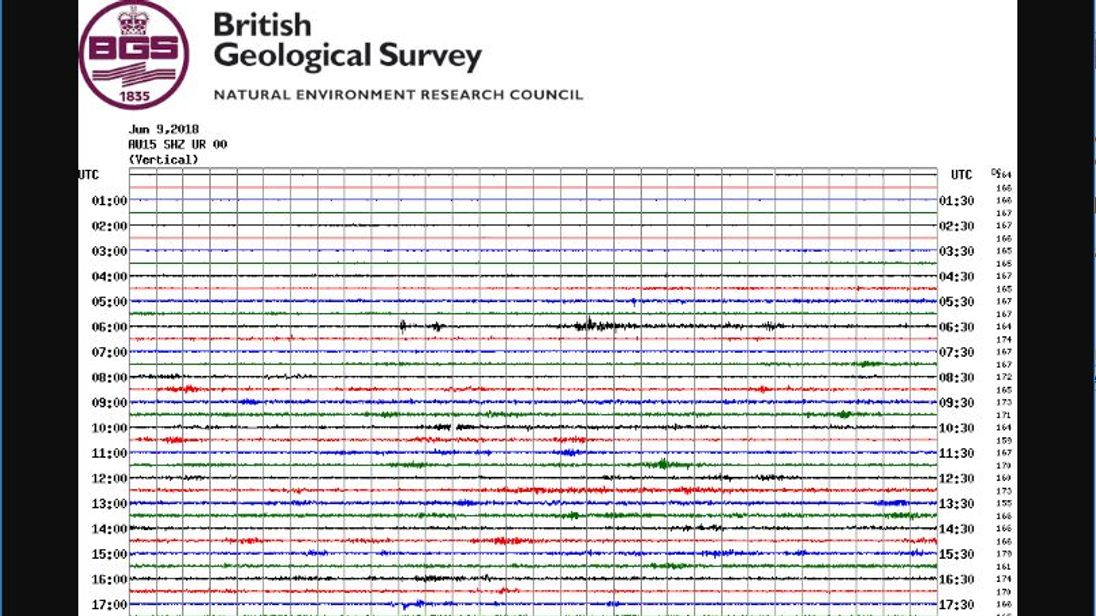 Tremors from quake  felt across northern England