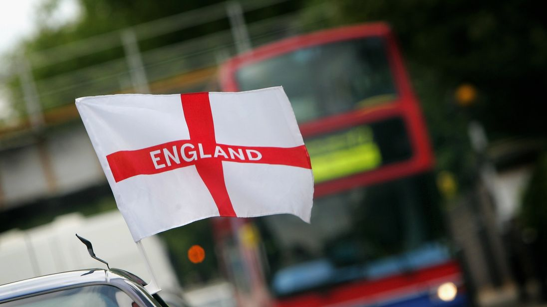 Royal Mail vans will not be adorned with England flags