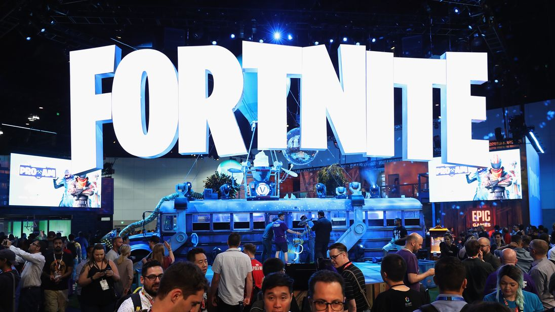 during the Electronic Entertainment Expo E3 at the Los Angeles Convention Center on June 12, 2018 in Los Angeles, California.